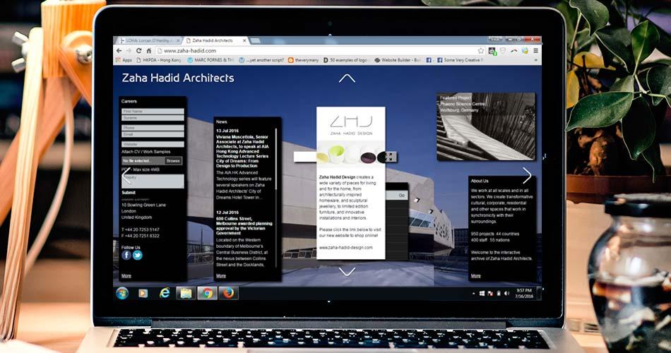 Top 10 Architecture studio websites of 2016 - RTF