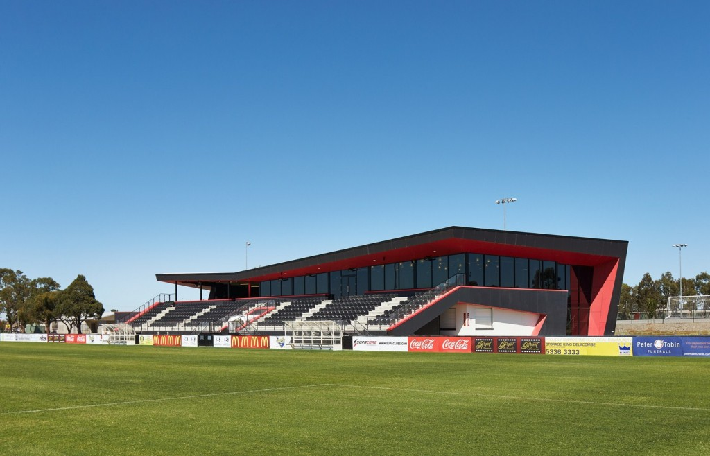 Ballarat Regional Soccer Facility By k20 Architecture