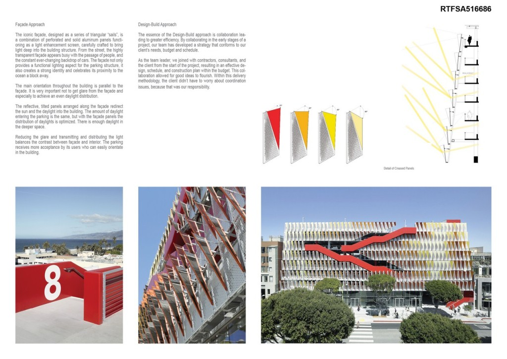 City of Santa Monica Public Parking Structure #6 By Behnisch Architekten