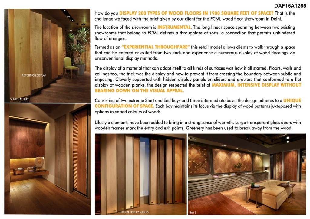 Fcml Wood Floor Showroom By Iaad-Its All About Design
