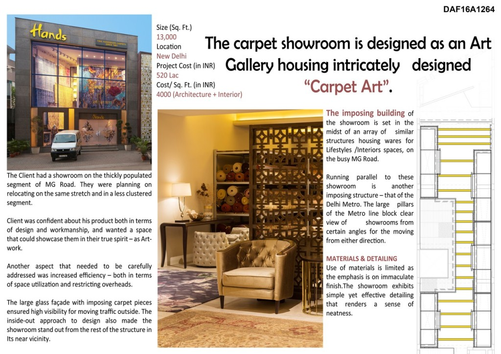 Hands - Carpet Showroom By Iaad - Its All About Design