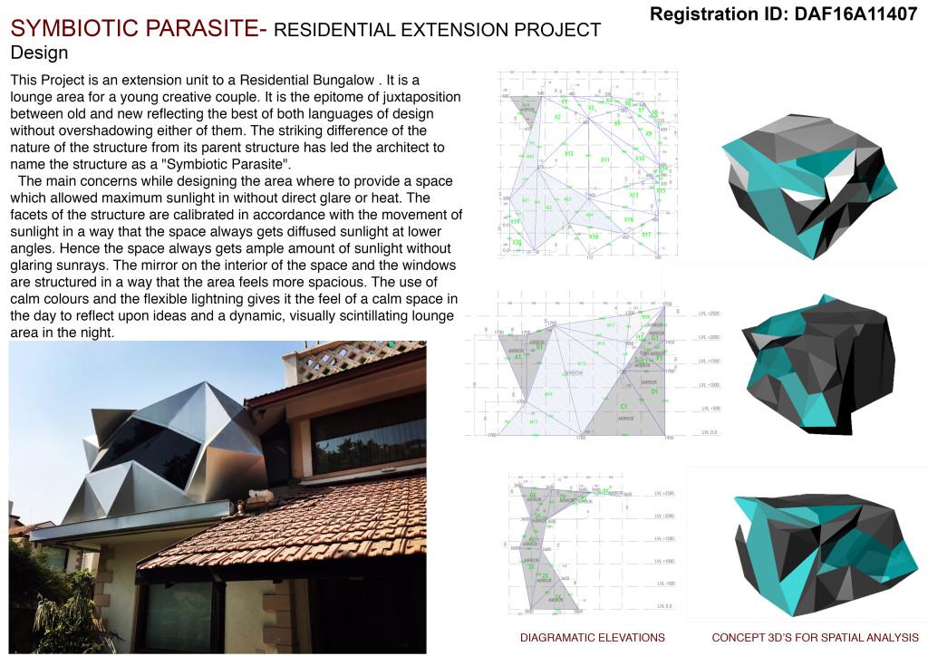 Symbiotic Parasite By Hsc Designs