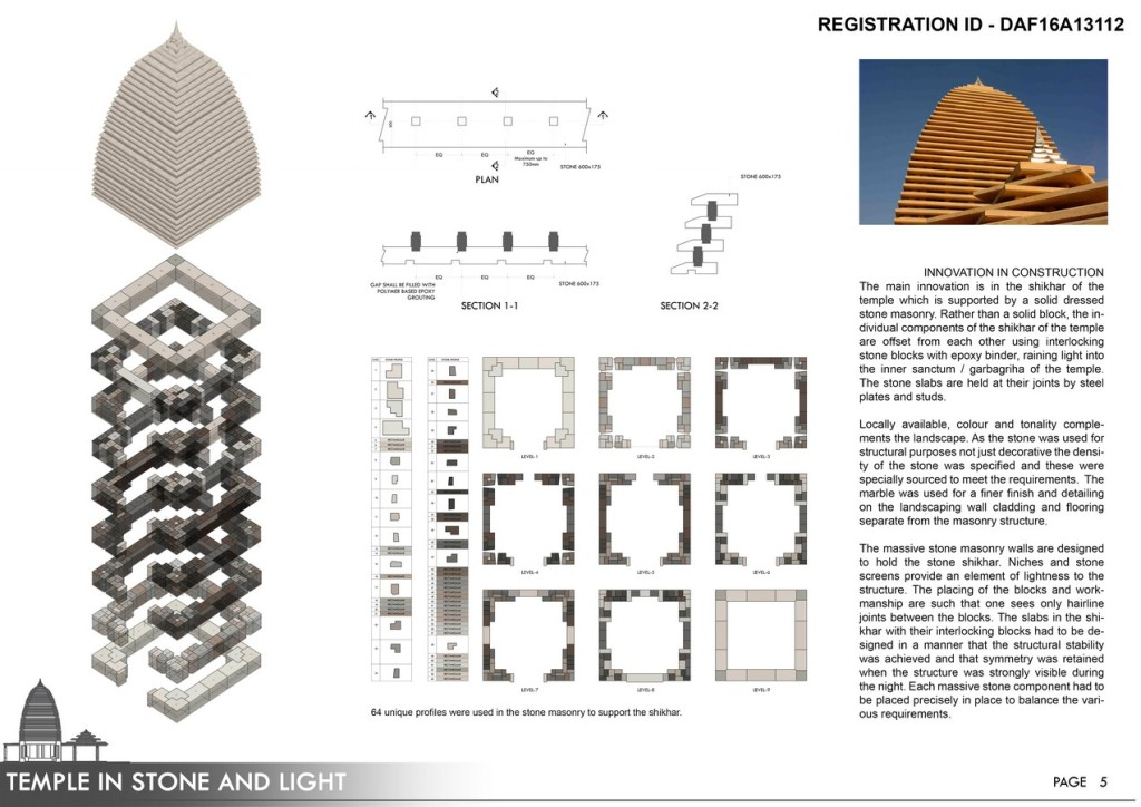 Temple In Stone And Light | Spacematters - RTF | Rethinking