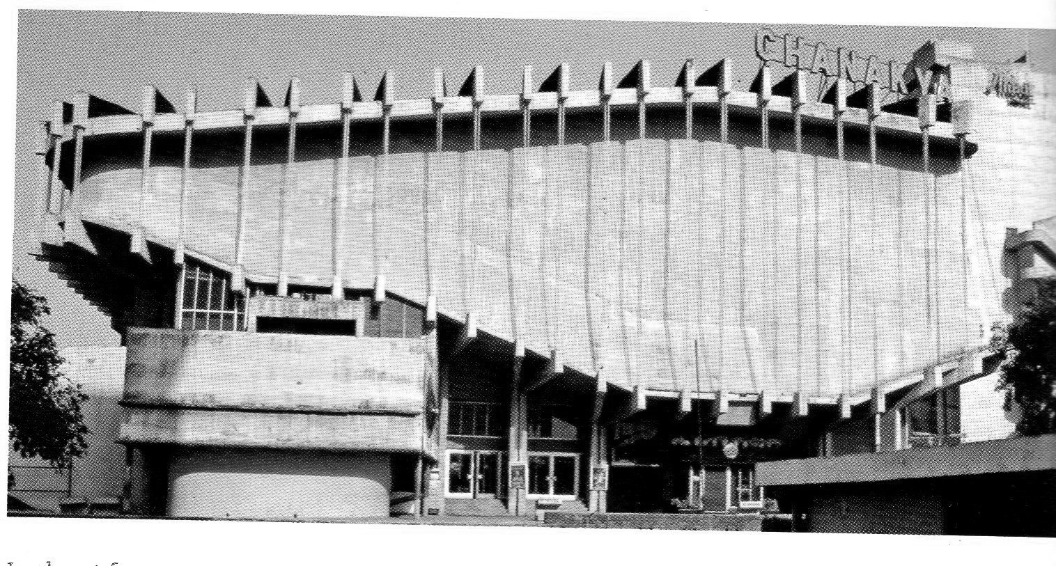 A journey of 100 years of Architecture in India | Part 02 - 1967-69 Chanakya Cinema, New Delhi