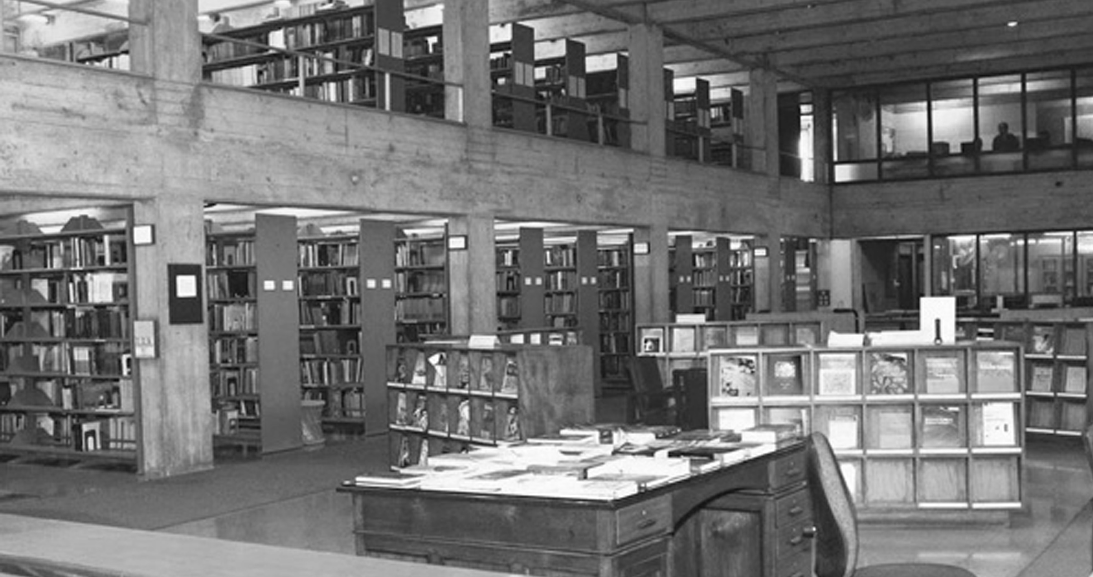 A journey of 100 years of Architecture in India | Part 03 - 1976-1979-Raman-Research-Institute-Library