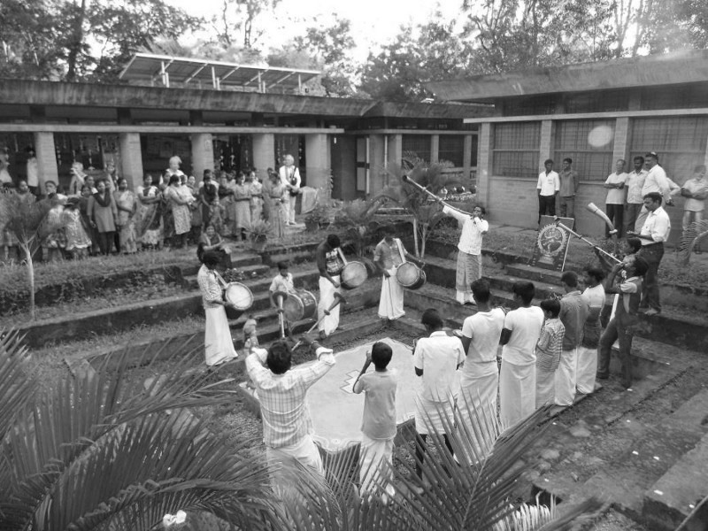 A journey of 100 years of Architecture in India | Part 03 - 1984-88 SAIIER Primary School campus, Auroville