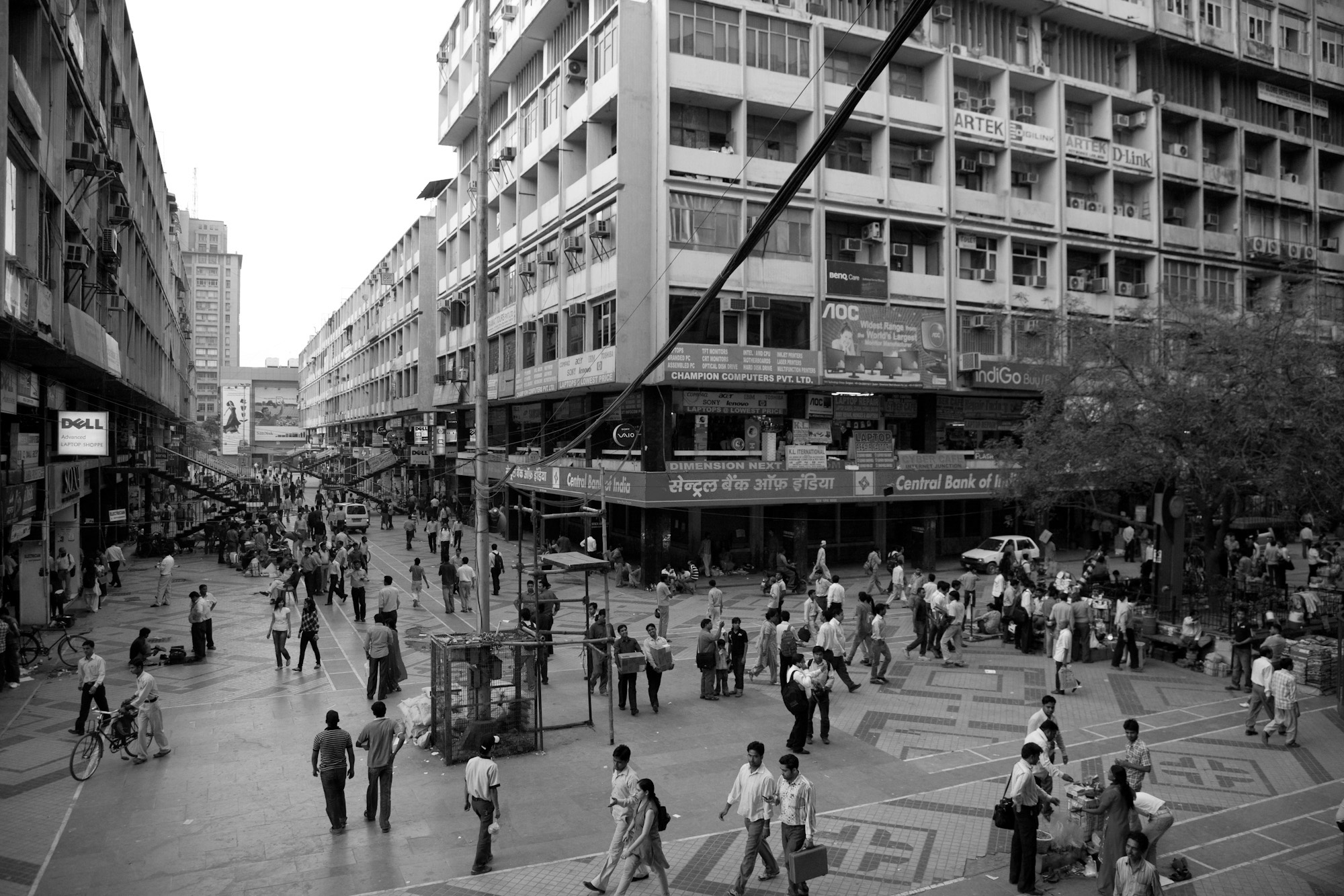 A journey of 100 years of Architecture in India | Part 03 - 1984-Nehru-Place-Commercial-Complex