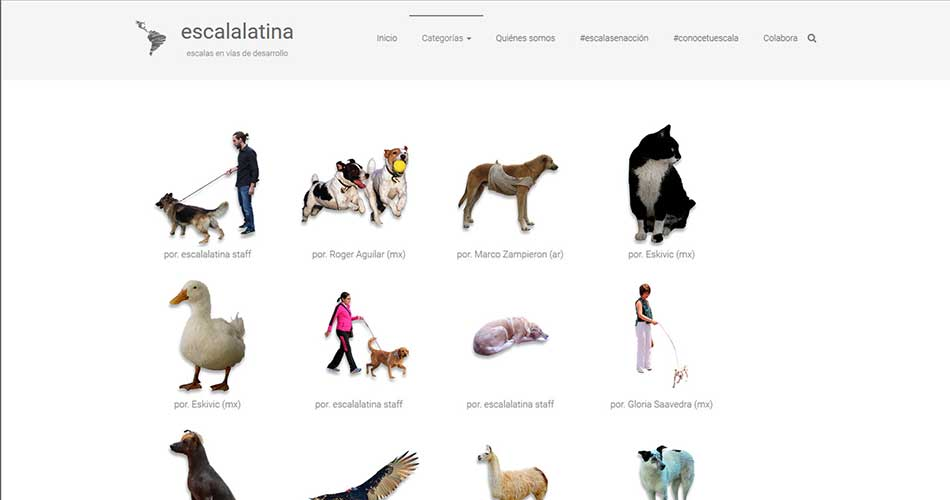 10 Websites to find Cutouts of People for Architectural Renderings - Escalatina | Cutout Of South American