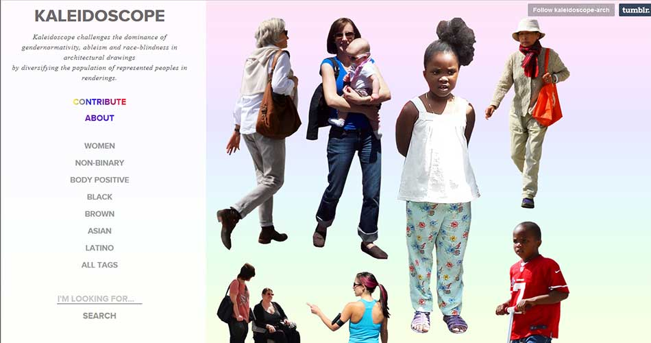 10 Websites to find Cutouts of People for Architectural Renderings - Kaleidoscope | Lationo | Blacks | Asians
