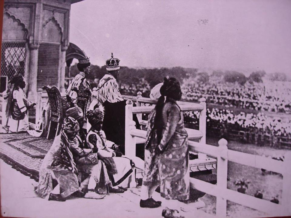 Delhi Now & Then - See how Delhi has changed through CENTURIES. This Is Amazing.! - Delhi Durbar of 1911