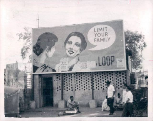 Delhi Now & Then - See how Delhi has changed through CENTURIES. This Is Amazing.! - Family Planning Contraceptive Hoarding – Delhi 1967