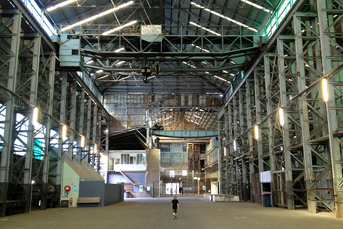 Art and architecture collide on Cockatoo Island, Sydney - Sheet7