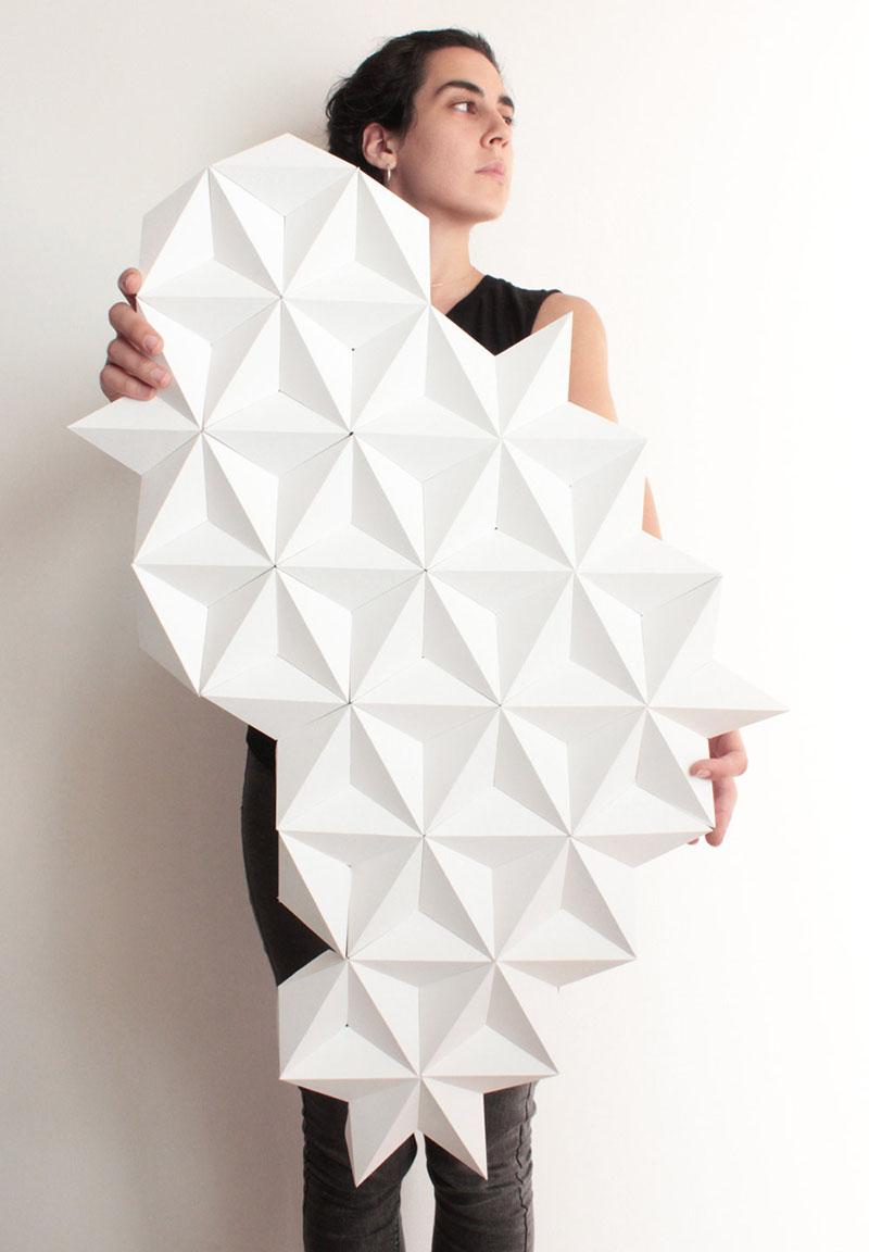 Kinga Kubowicz Has Created Moduuli, A Collection Of Geometric Origami Wall Art - Sheet2
