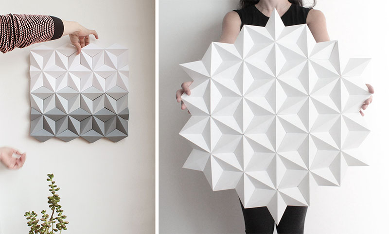 Kinga Kubowicz Has Created Moduuli, A Collection Of Geometric Origami Wall Art - Sheet5