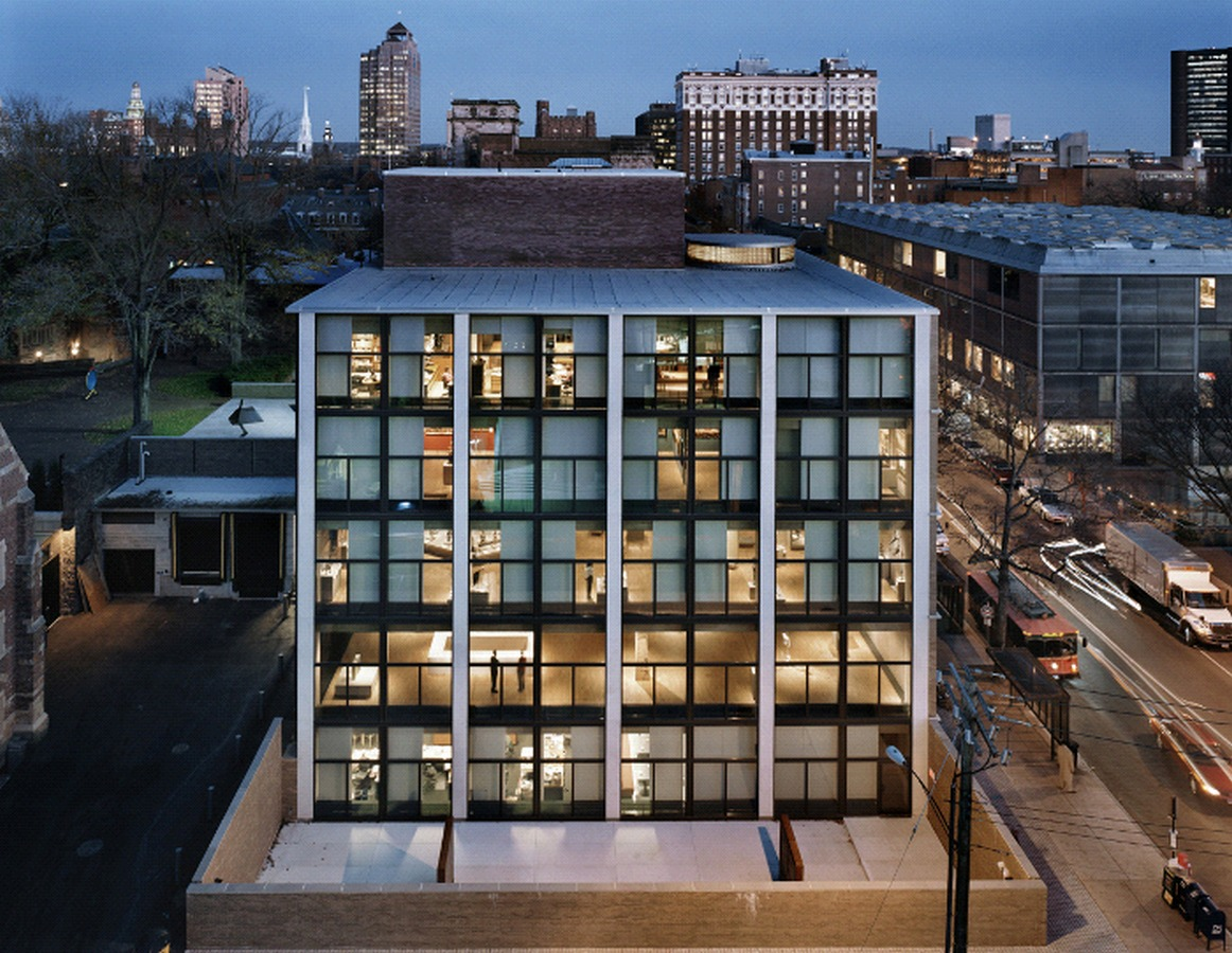 LOUIS KAHN: Commemorating Architects on their Birthdays - Yale University Art Gallery at New Haven, Connecticut (1951-53)