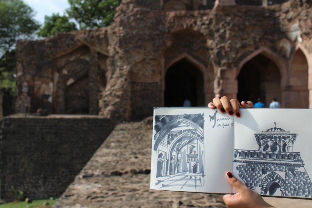 Mandav: A Photo Essay - Hindola Mahal2