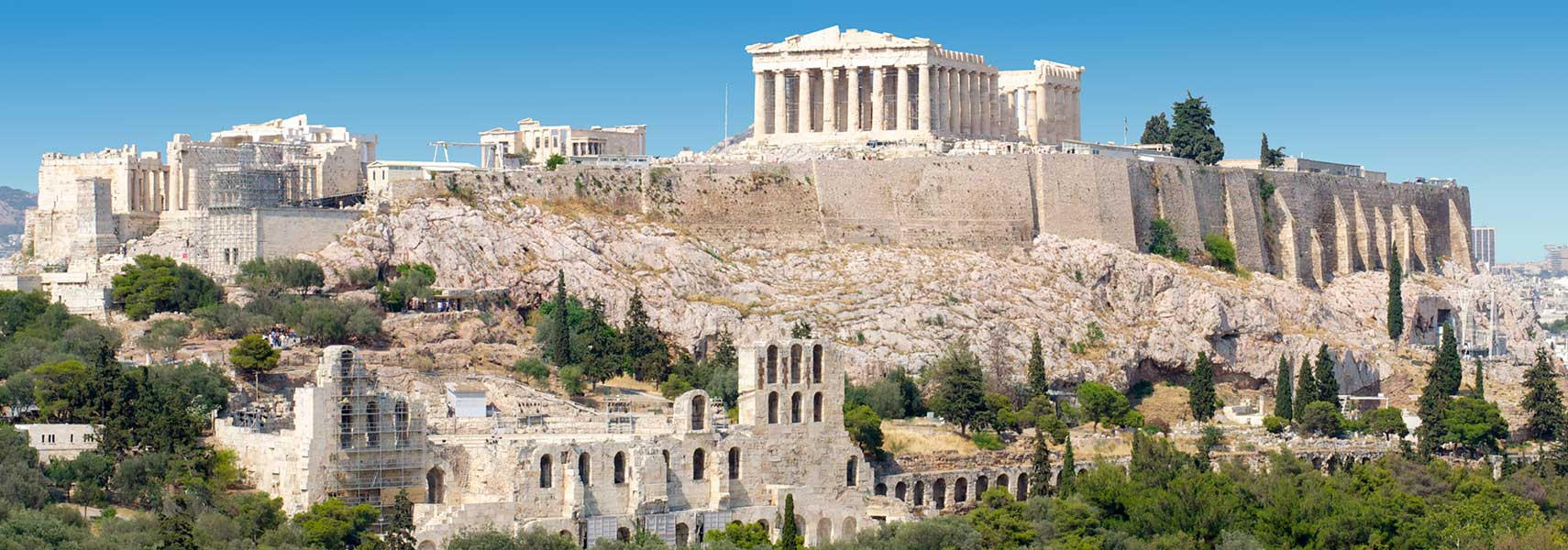 20 Buildings in Europe Every Architect must visit - Acropolis, Athens, Greece