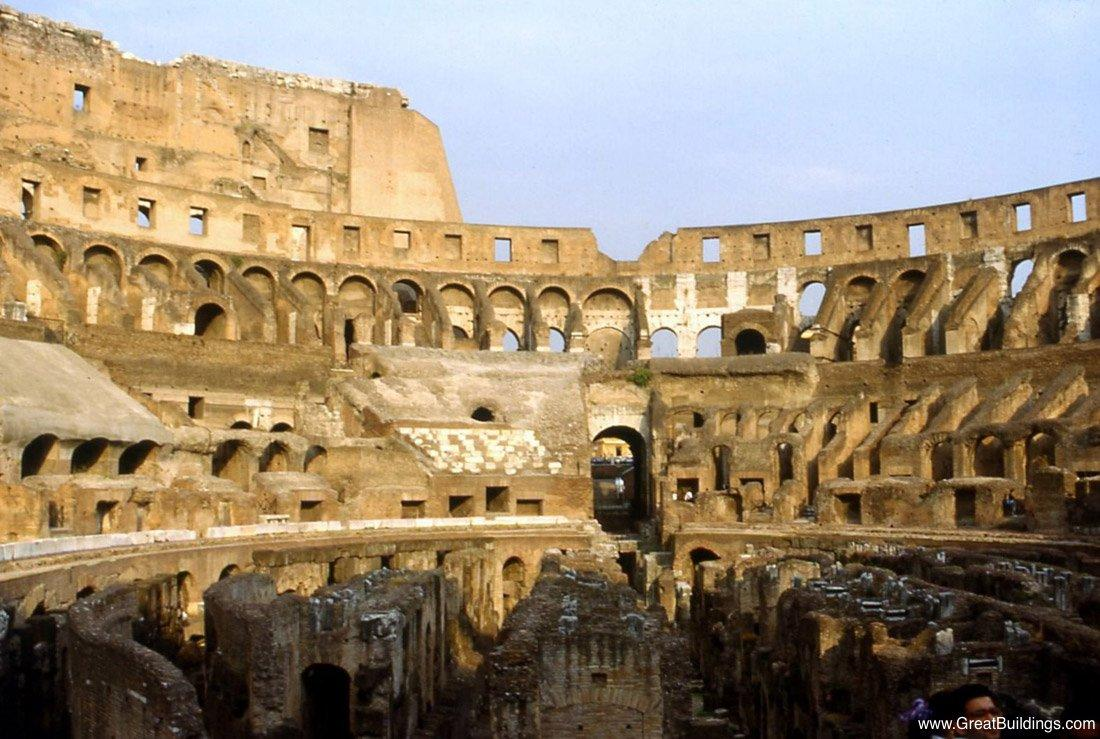 20 Buildings in Europe Every Architect must visit - Colosseum, Rome, Italy
