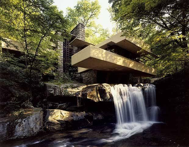 20 Buildings in Europe Every Architect must visit - Fallingwater, Pennsylvania, US