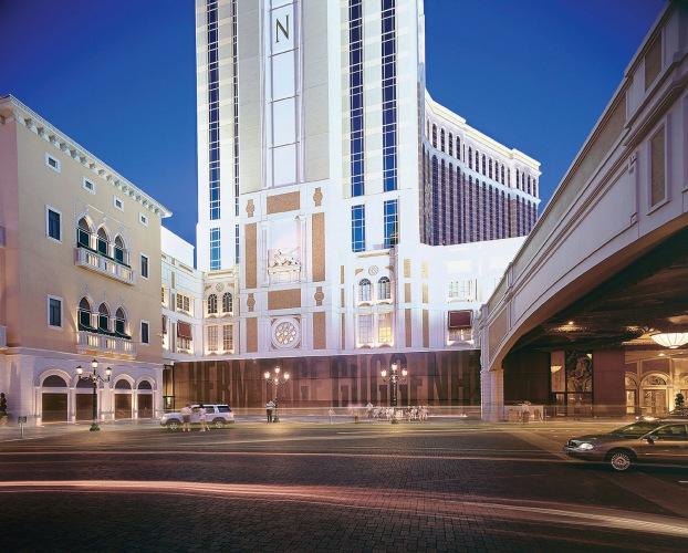 Exterior View - Guggenheim-Hermitage Museum and Guggenheim Las Vegas Museum