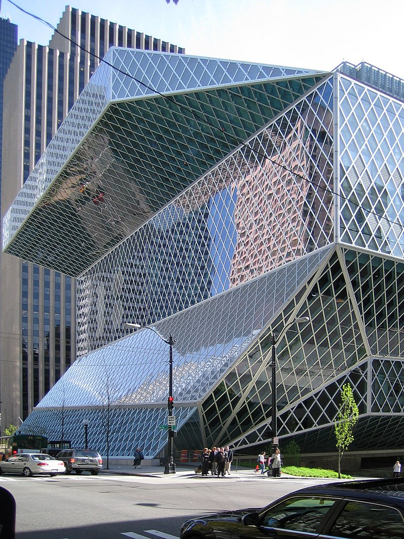 Exterior View - Seattle Central Library