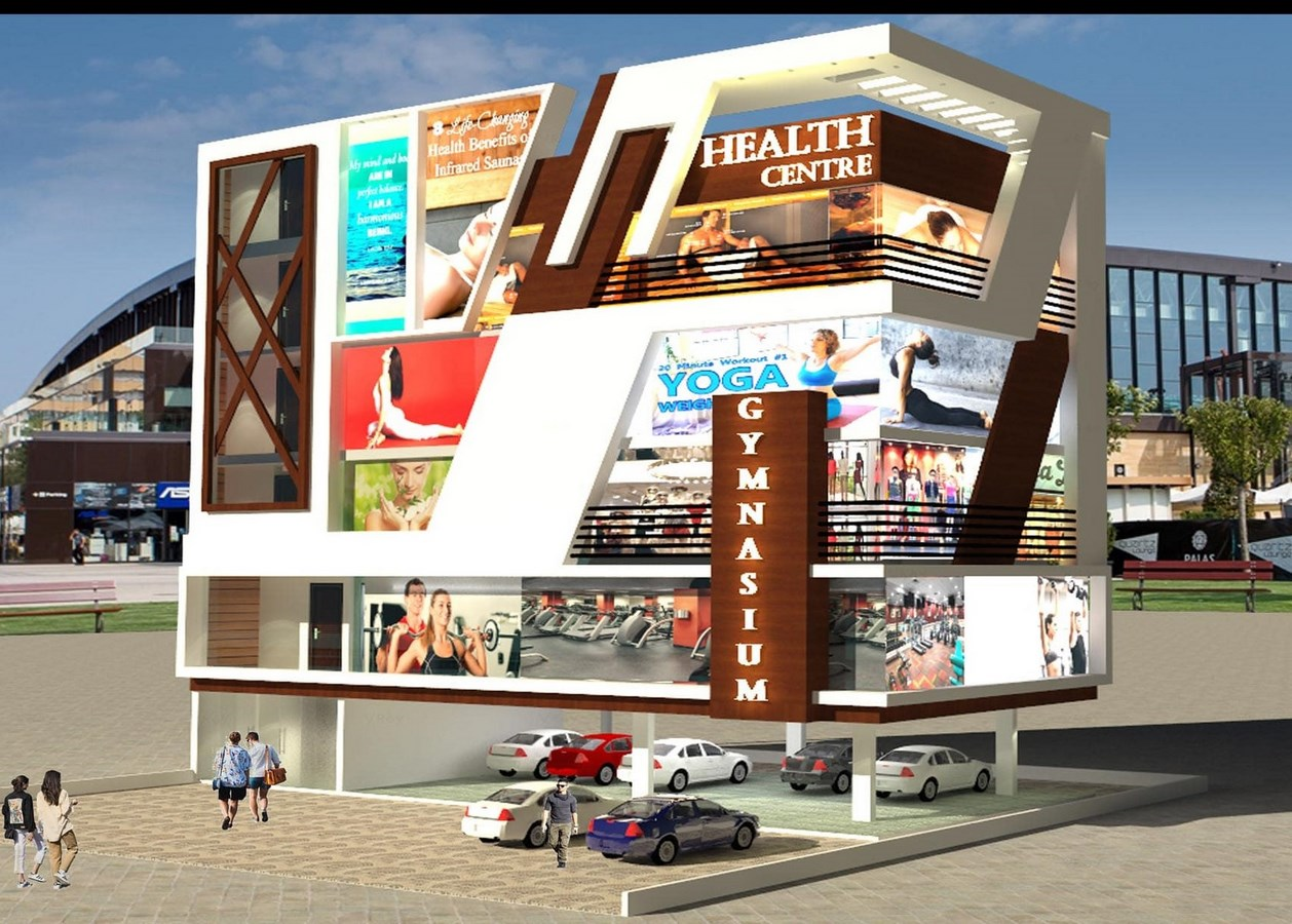 Commercial Project by Architecture Consultant © Architecture Consultant