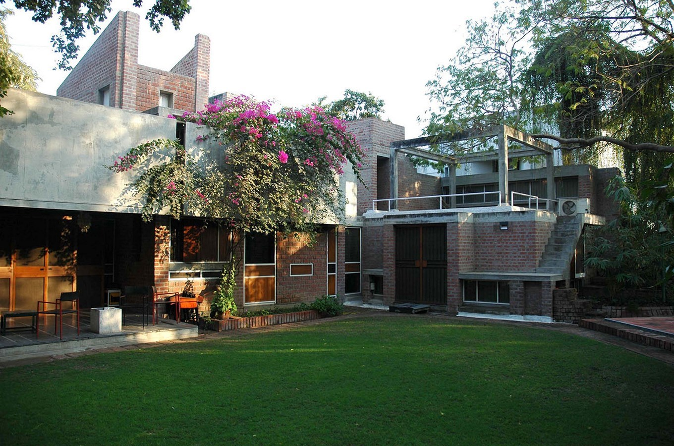View from the lawn - Kamala House