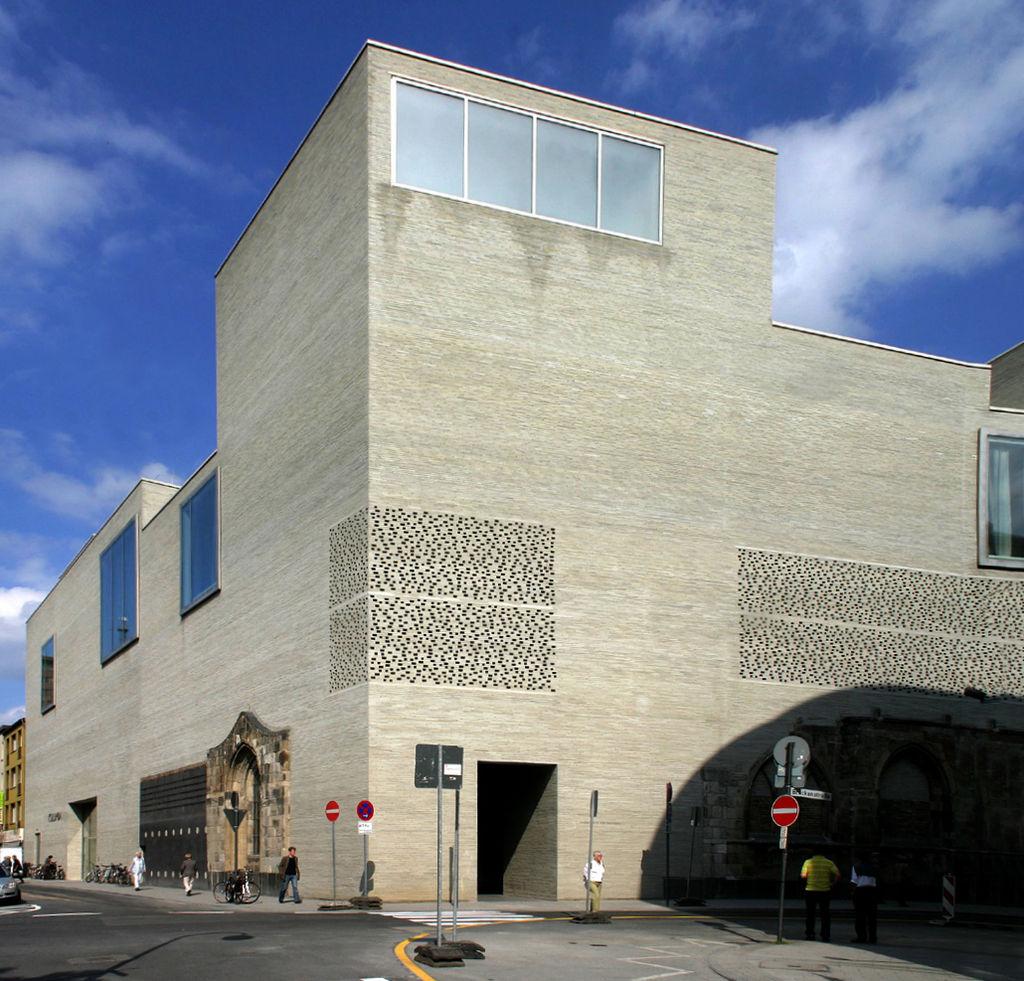 Exterior shows the entrance - Kolumba