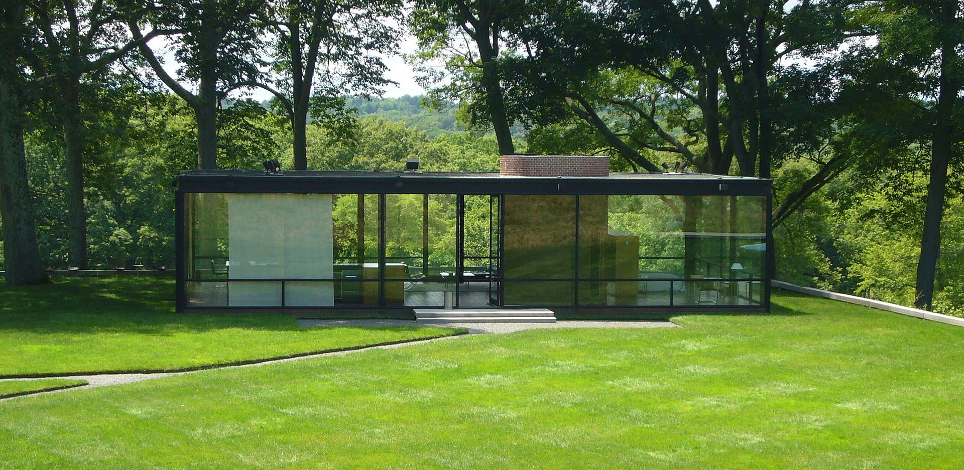 Front Elevation - Glass House