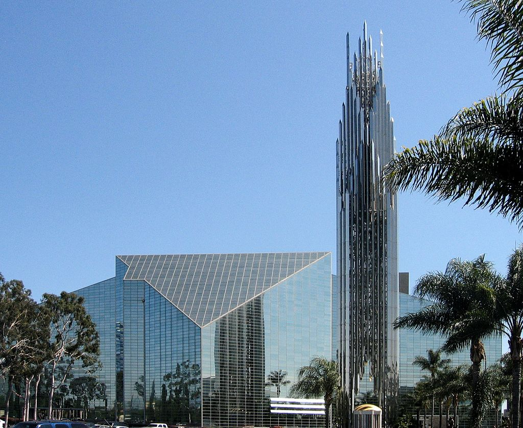 The exteriors of the tower - Christ Cathedral