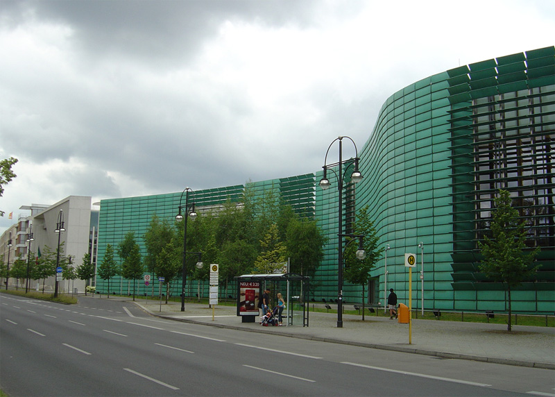 Exterior view of building complex- Nordic Embassies