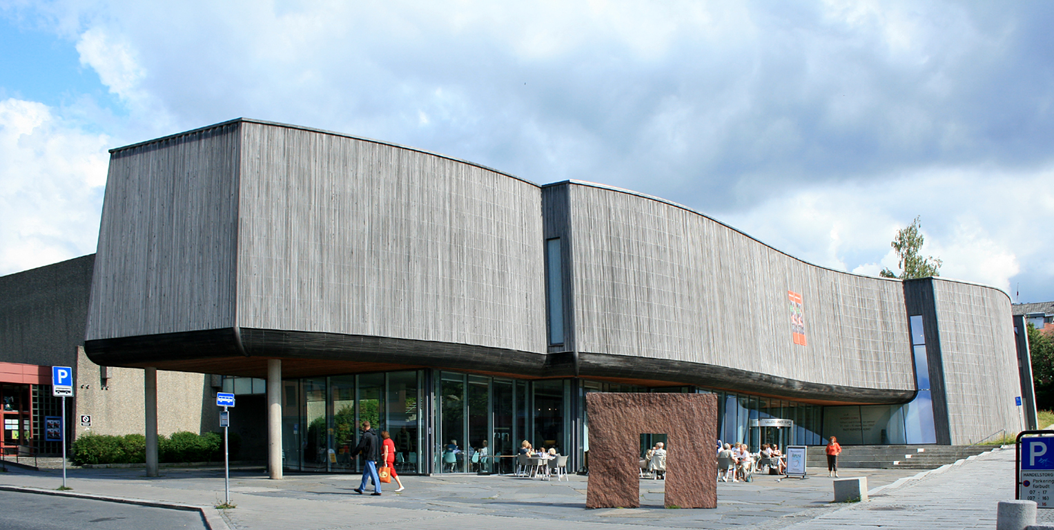 Front elevation of the art gallery- Lillehammer Art Museum
