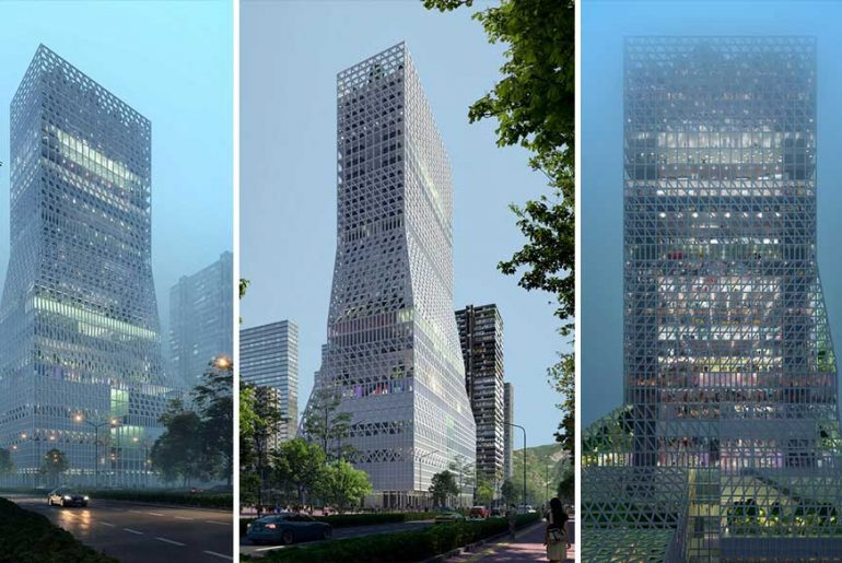 Futian Civic Culture Center By Mecanoo