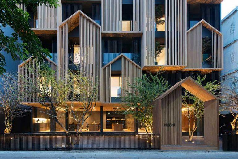 Hachi Serviced Apartment by Octane architect & design