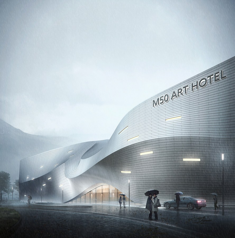 Xinglong Lake Bookstore by MUDA-Architects - Sheet11