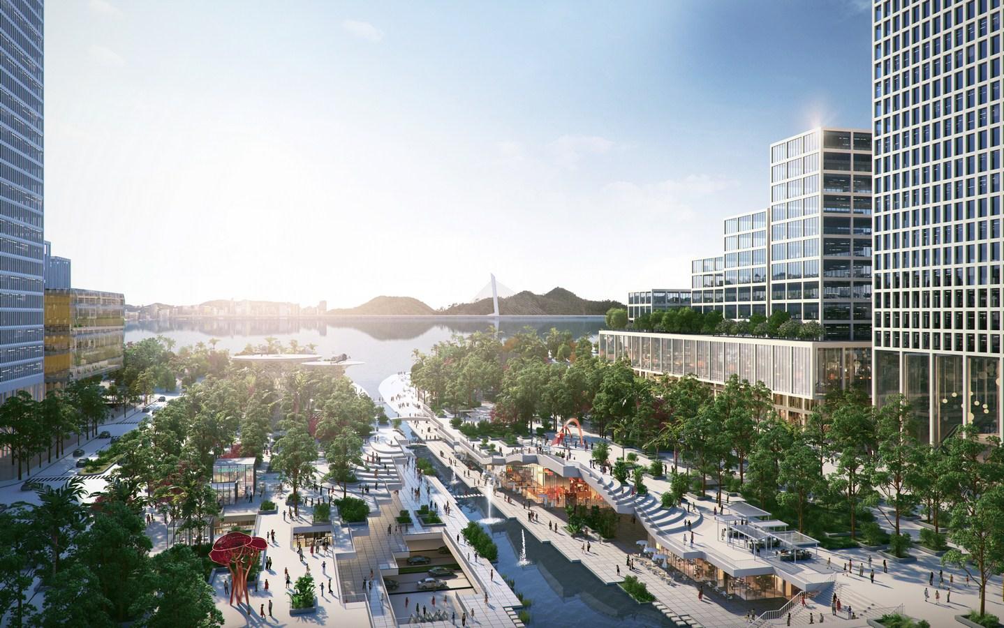 Shenzhen Bay Headquarters City by Henning Larsen - Sheet7