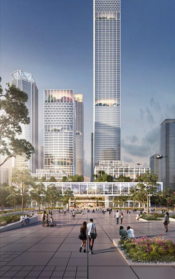 Shenzhen Bay Headquarters City by Henning Larsen - Sheet3
