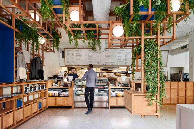 Village Den Cafe by Büro Koray Duman Architecture, PLLC