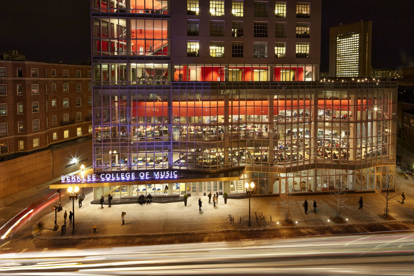 25 Most Iconic Structures In Boston - BERKLEE COLLEGE OF MUSIC