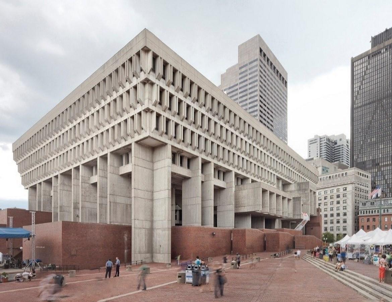 A306 - Boston Architecture - BOSTON CITY HALL_Image1