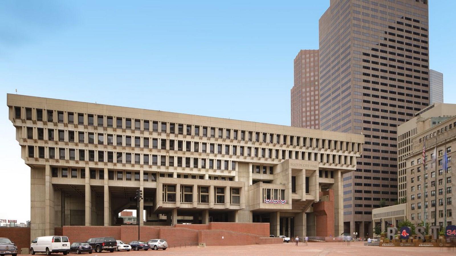 A306 - Boston Architecture - BOSTON CITY HALL_Image2