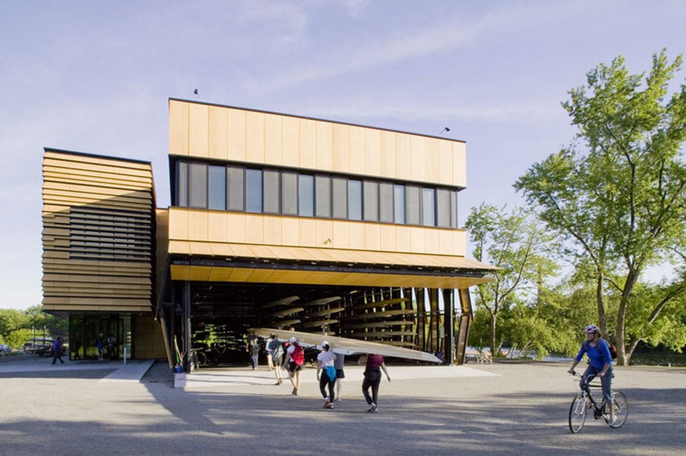 A306 - Boston Architecture - COMMUNITY ROWING BOATHOUSE_Image1