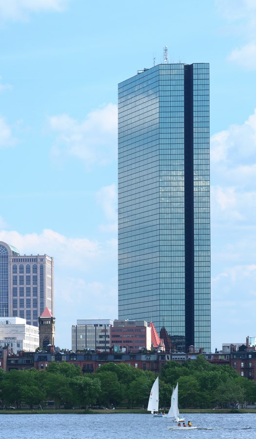 25 Most Iconic Structures In Boston - JOHN HANCOCK TOWER