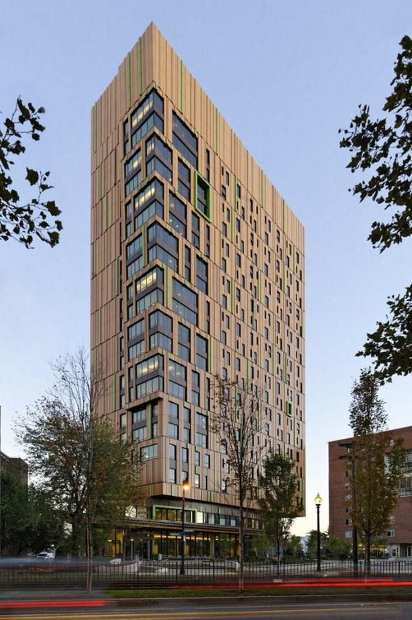 25 Most Iconic Structures In Boston - MASSACHUSETTS COLLEGE OF ART AND DESIGN'S STUDENT RESIDENCE HALL - Sheet2