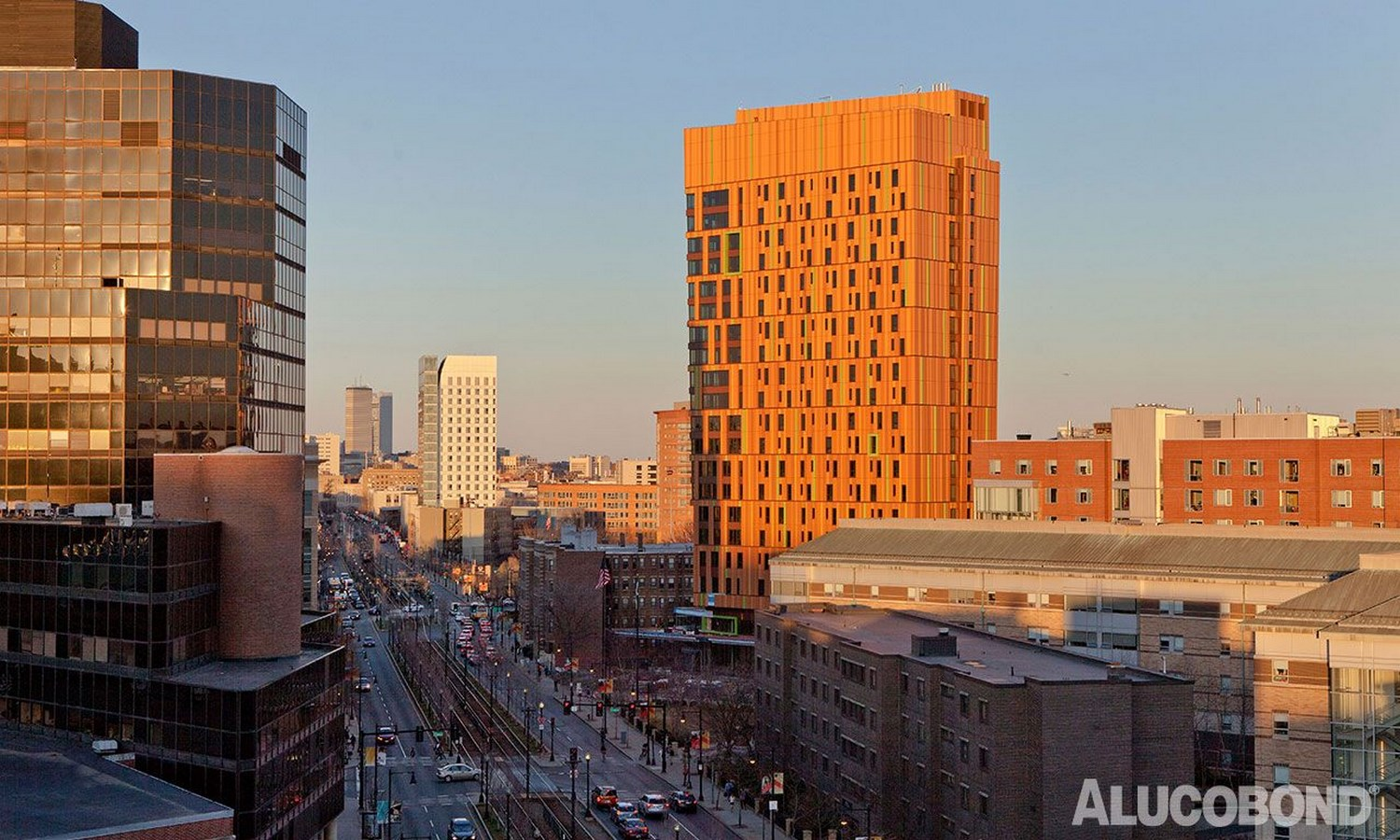 25 Most Iconic Structures In Boston - MASSACHUSETTS COLLEGE OF ART AND DESIGN'S STUDENT RESIDENCE HALL - Sheet1
